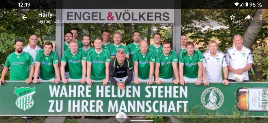 Alte Herren Mannschaftsfoto